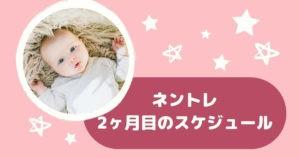 【ネントレ】生後2ヶ月の過ごし方と実践のまとめ ~睡眠時間を意識する