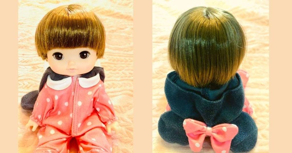 レミンちゃんの髪形