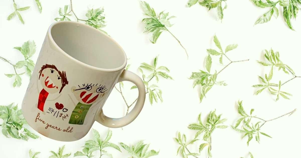 世界にひとつしかないマグカップ